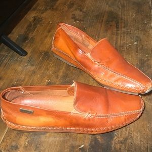 Shoes - ,Pikolinos leather driving moccasins